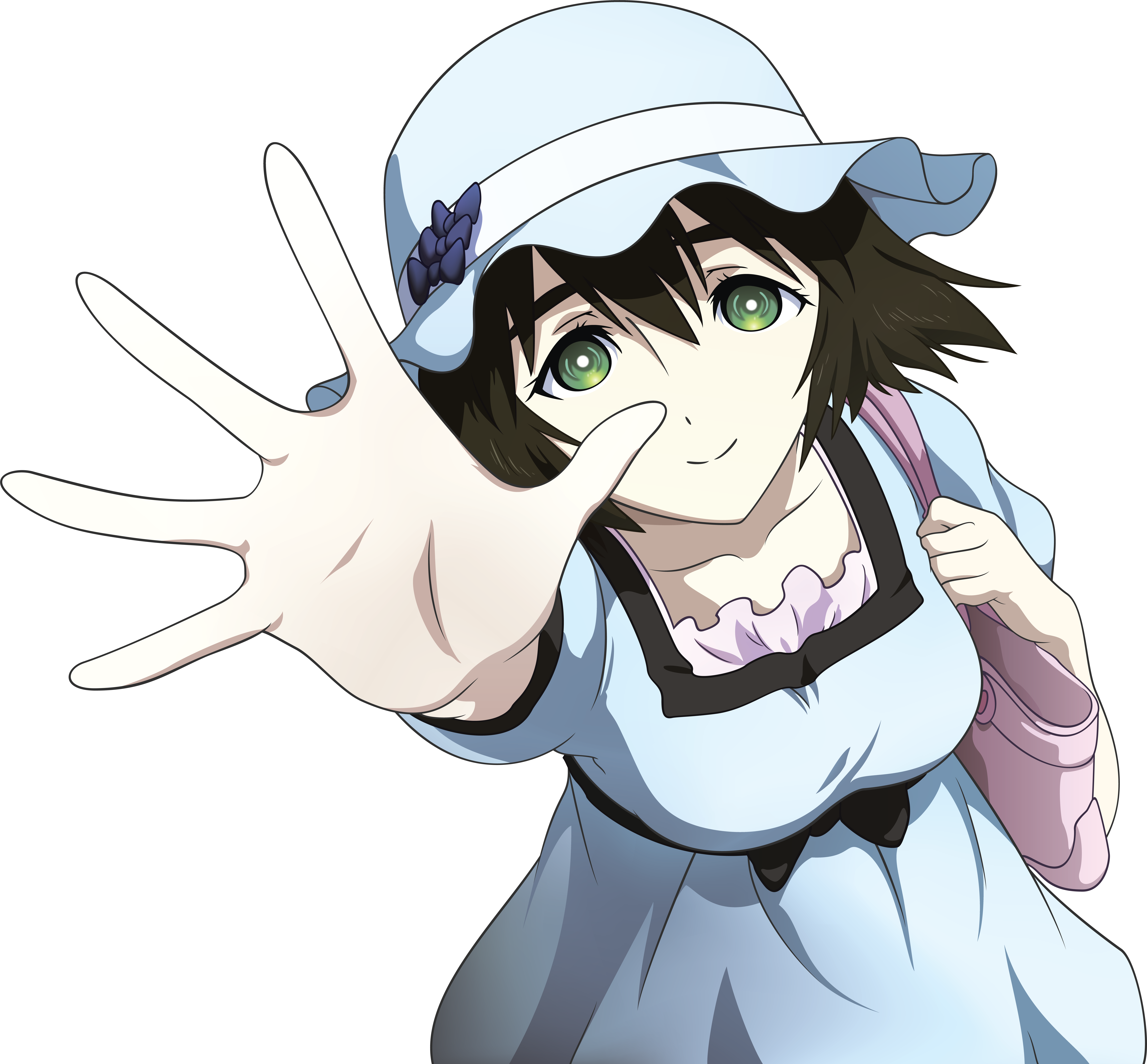 Anime Characters Vector : Mayushii vector by fncombo on deviantart