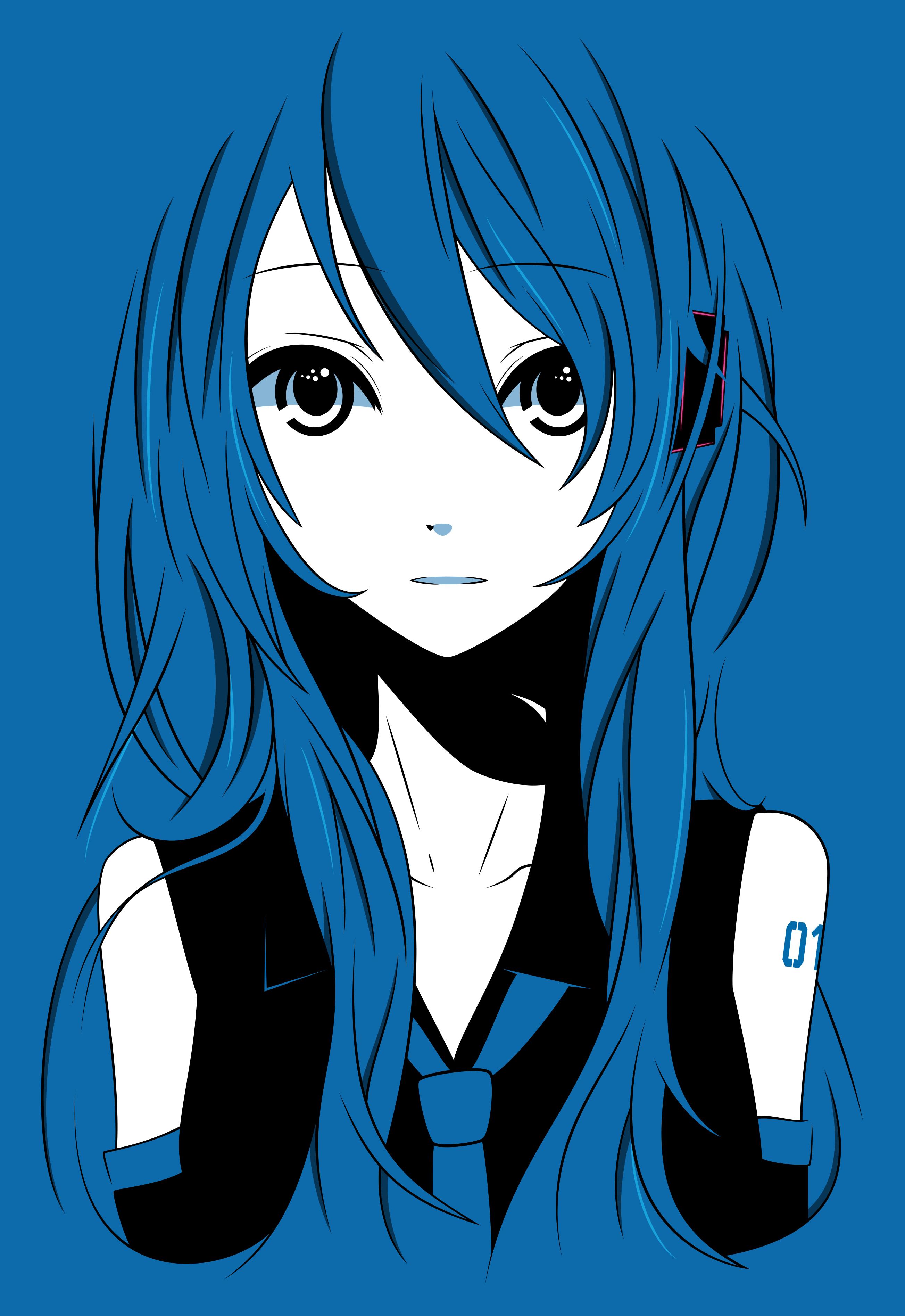Hatsune Miku Vector by fncombo