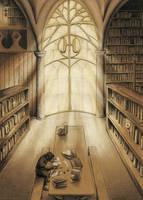 WIP:HogwartsLibrary by pikaf