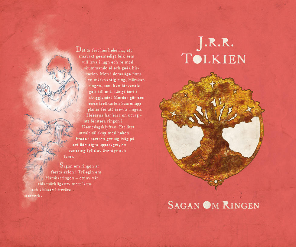 LotR New Cover Book One by pikaf