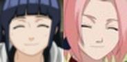 Hinata and sakura plz by SakamakiJustine