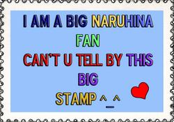 big naruhina stamp by SakamakiJustine