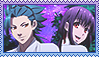 Request: Kamigami no asobi yui x takeru stamp by SakamakiJustine