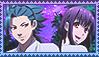 Request: Kamigami no asobi yui x takeru stamp by SakamakiJustine