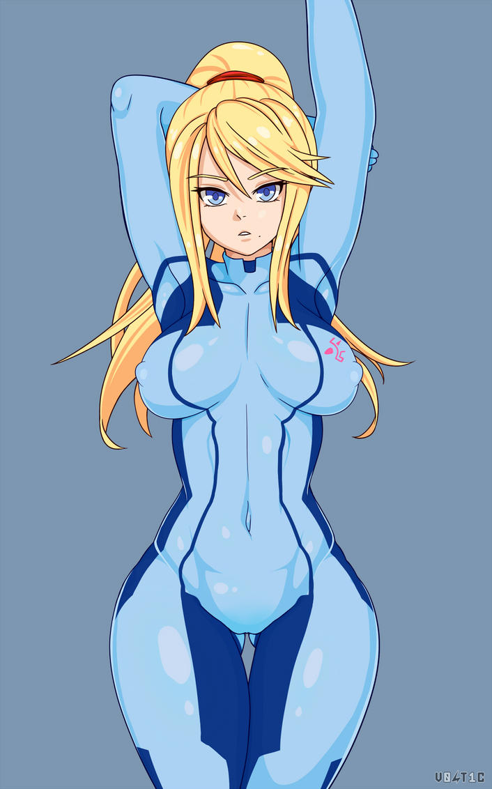Zero Suit Samus Naked Picture Showing Boob 80