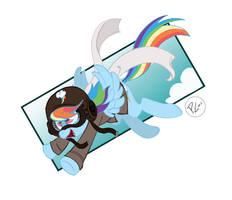 Military is Magic Rainbow Dash