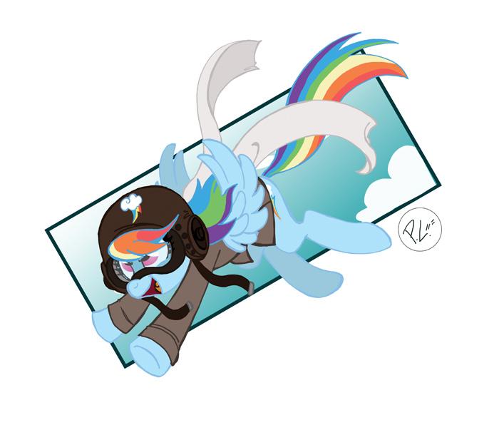 military_is_magic_rainbow_dash_by_greenw