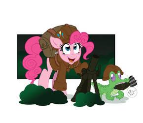 Military is Magic Pinkie Pie