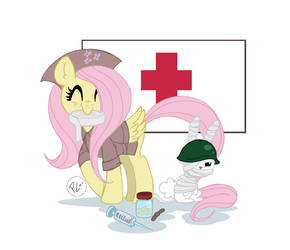 Military is Magic Fluttershy
