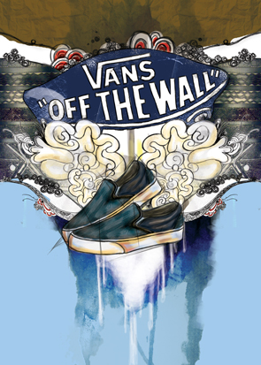 "Batik Vans Packaging Design "" by randyblinkaddicter"