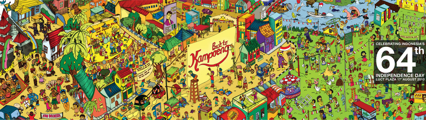 Back To Kampoeng Poster by randyblinkaddicter