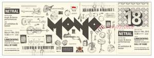 Monophone Ticket Design by randyblinkaddicter
