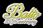 BALTO 20th anniversary tribute logo