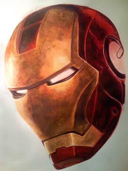 Iron Man - Watercolor