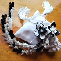 Wedding Hope. Custom Kanzashi. by hanatsukuri