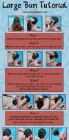 How to Wear Kanzashi 01 by hanatsukuri