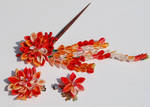 Autumn Harvest. Kanzashi.