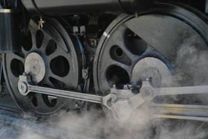 Steam train in Nagatoro, Japan by hanatsukuri