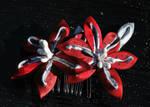 Red Stargazer Lily. Custom.