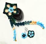 Peacock Flower Set