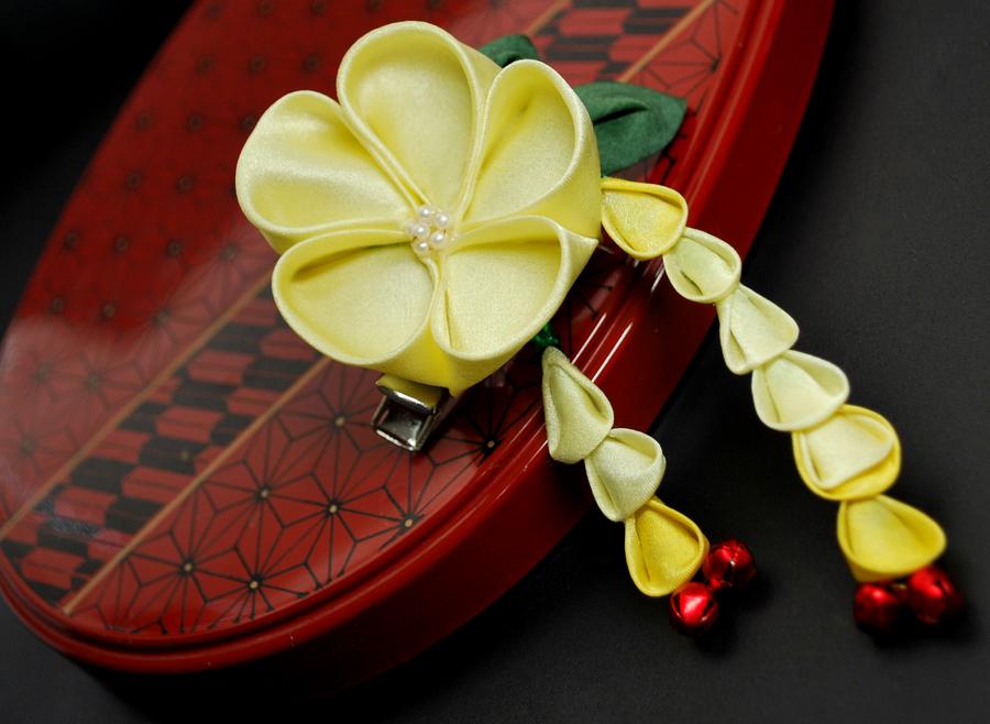 Candy Sun. Original Hair pin. by hanatsukuri