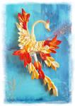 Phoenix kanzashi
