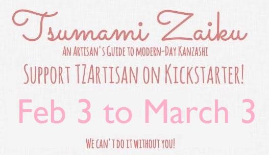 Tsumami Zaiku: An Artisan's Guide to Kanzashi by hanatsukuri
