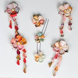 Kimono Frabric Candy Design.