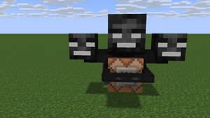 Wither With Command Block!