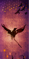 Birds and sky custom box background