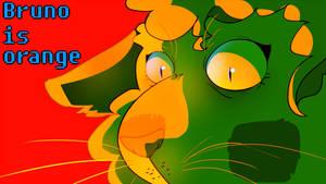 Bruno is orange (animation)