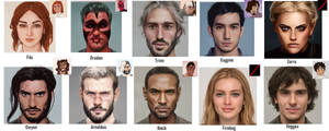 All The Human Faces