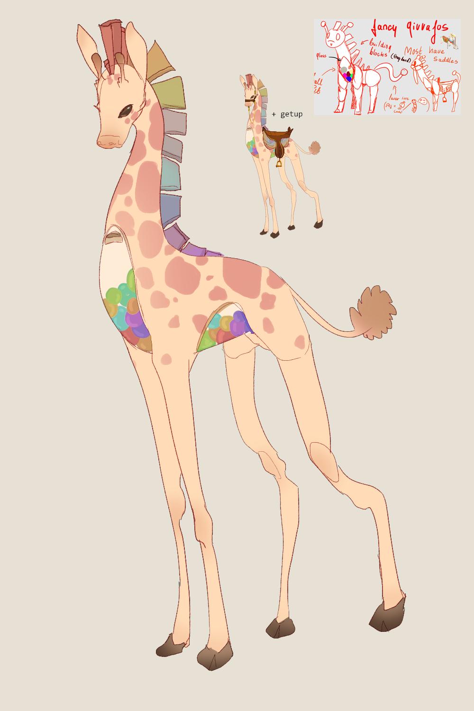 Giraffo redraw (7 years!)