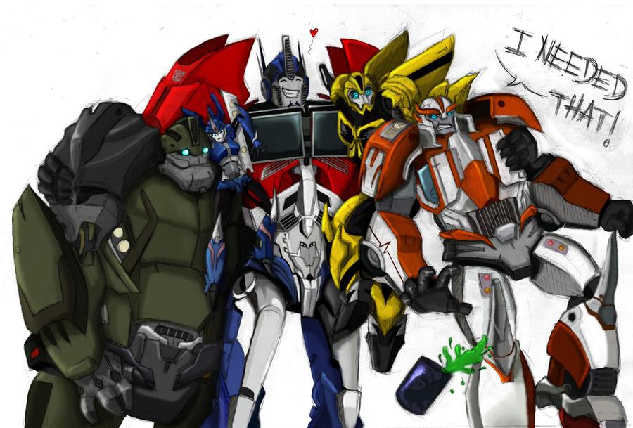 team prime by Miklche04