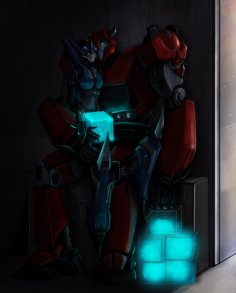 At cliff and arcee by miklche04 on deviantart