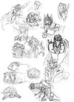 Sketch dump by Miklche04