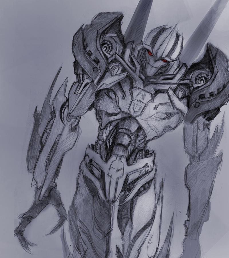 Starscream sketch by Miklche04
