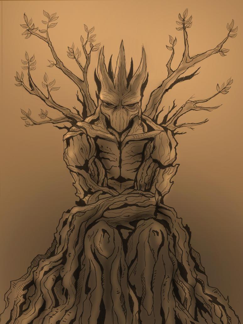 Tree beast by Miklche04