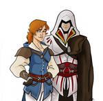 Catherine and Ezio