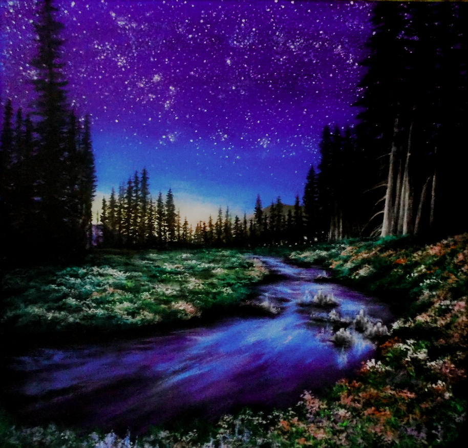 Peaceful night by RKoneGNS