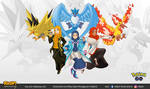 Pokemon Go Team Leaders with Legendary Pokemon