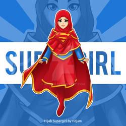 Hijab Supergirl
