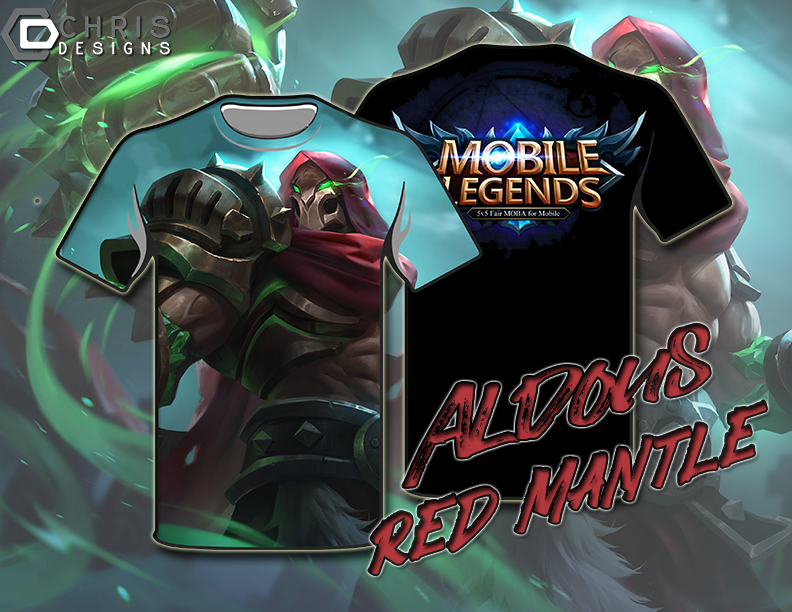 Sample Tshirt Mobile Legend Aldous Red Mantle By Christio01