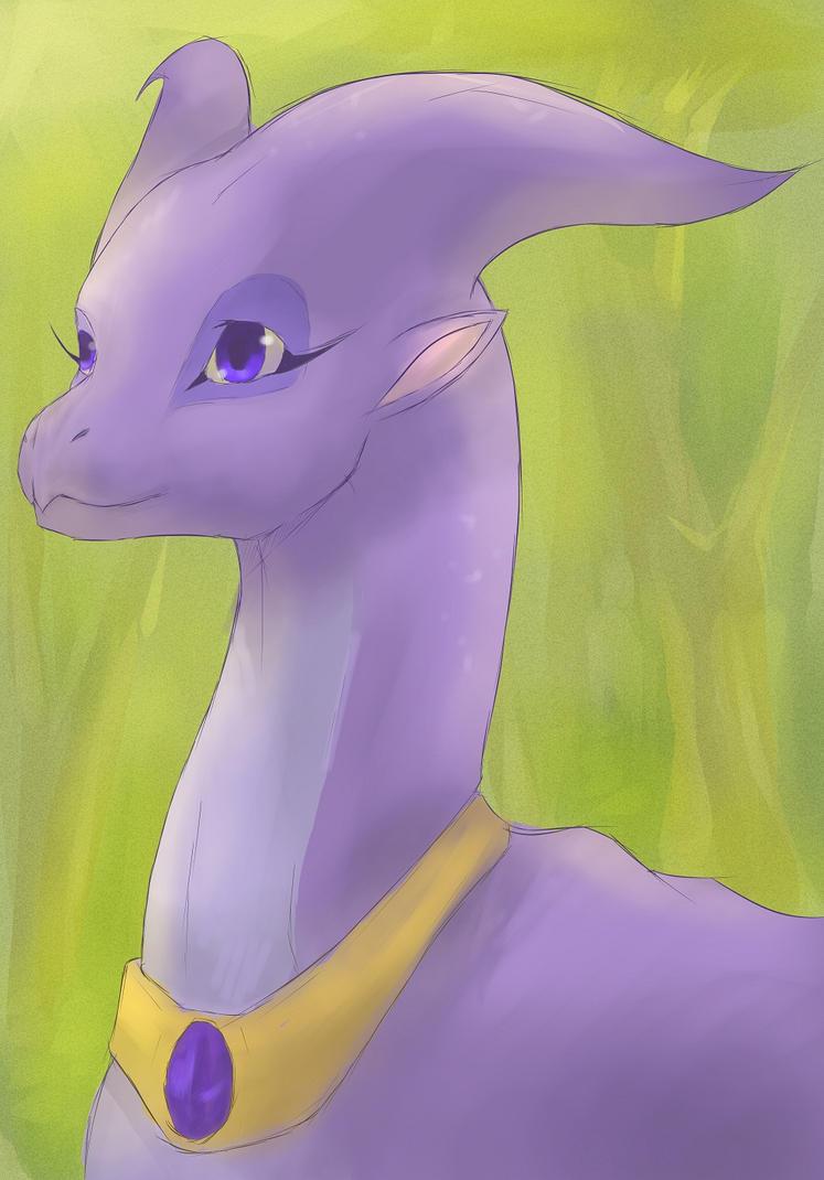 Dragon Princess by ButterflyDragon99