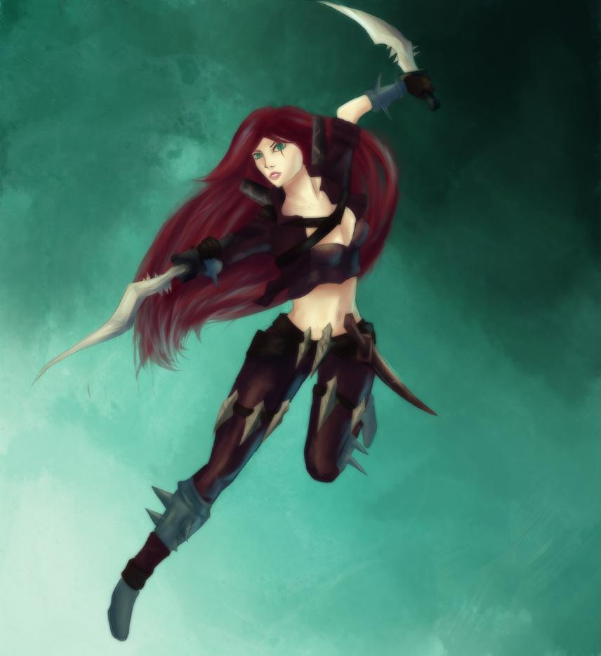 Katarina by ButterflyDragon99