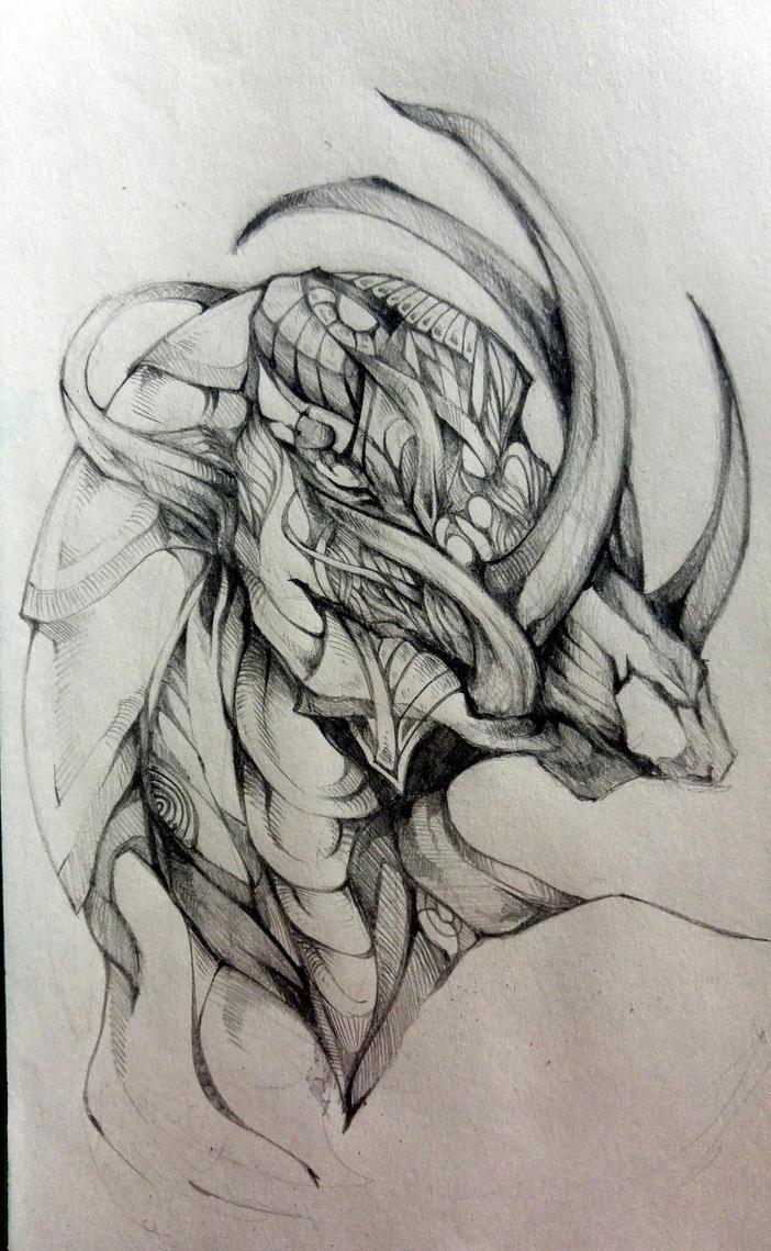 Dragon by ButterflyDragon99