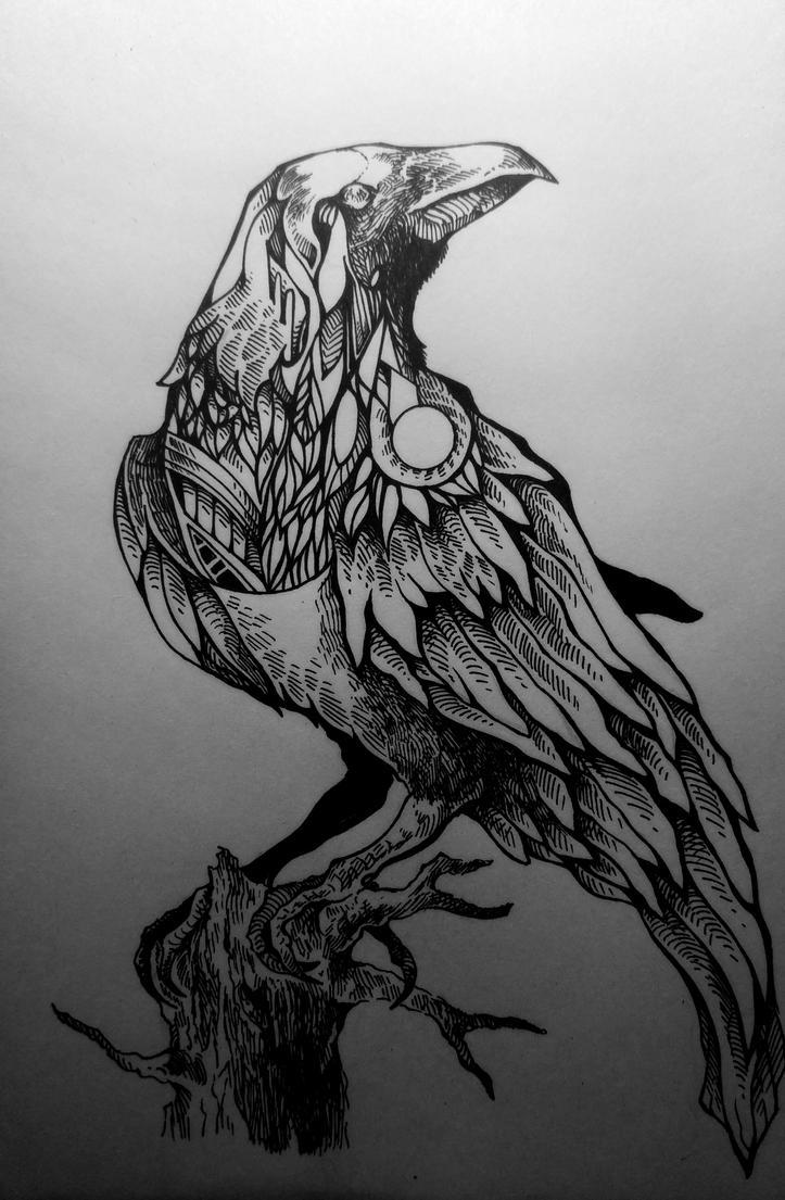 Raven by ButterflyDragon99