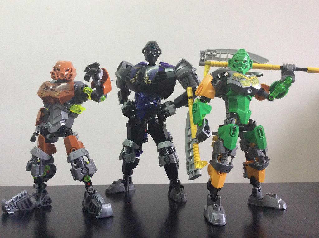 The Silver Toa squad  by CIRLU
