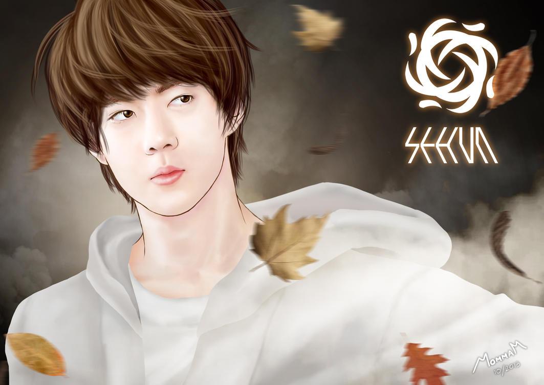 EXO - SEHUN (Wallpaper) by Mom2maM on DeviantArt  EXO - SEHUN (Wa...