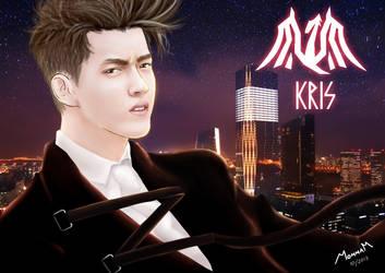 EXO - KRIS (Wallpaper) by Mom2maM